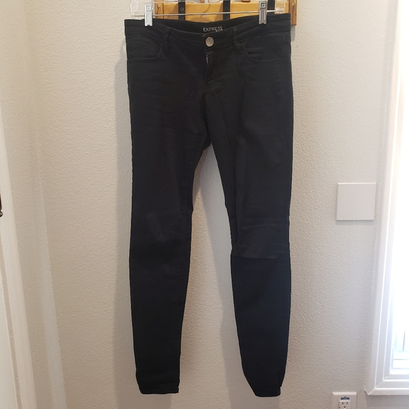 Express Black Skinny Jeans, Size 2